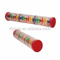 2014 chinese manufacture plastic rainning sound tube for chidren