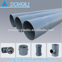 Hot sale Pvc plastic water supply pipe / upvc water supply irrigation system