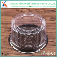 Chocolate color cake packing box