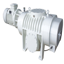 oil lubrication roots vacuum suction pump system China manufacturer