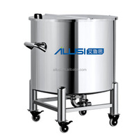Moveable stainless steel shampoo storage tank, industrial tank for sale