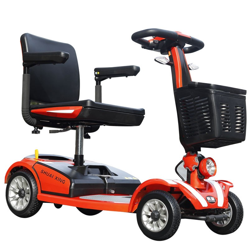 2016 New style adult folding China CE 3 wheel scooter 500cc