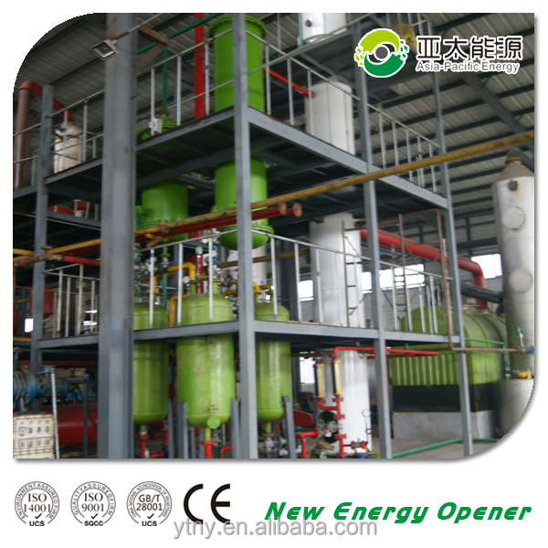 Best waste engine oil to diesel fuel rectification column oil to diesel distillation equipment