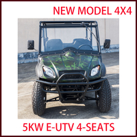 2017 new model electrical 4 Seat 4x4 UTV Utility Vehicle good quality with cheap price
