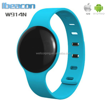 2017 cheapest Bluetooth 4.0 Beacon Bracelet eddystone beacon Wristband