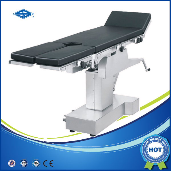 multifunction manual x ray operating exam table with stirrups HFMH3008AB