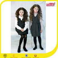 China school uniform manufacturers provide OEM service custom new model girl school uniform jumpers dress