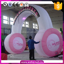 16ft Earphone Arch/Advertising Inflatable Arch/Replica Inflatable Customized W10606
