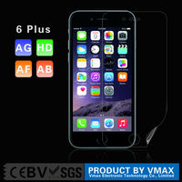 Best Selling Free Sample !! High Clear Anti-fingerprint cell phone screen protective film for iPhone 6 Plus 5.5''