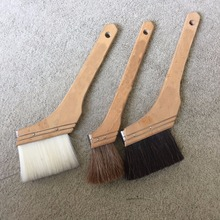 High quality wooden handle abnormal paint brush