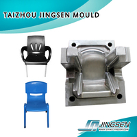 Hot sale plastic moulded school chair plastic mould plastic Chair Mould maker in China with cnc machine for mold making