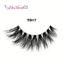 3d 100% Thick Siberian Mink Lashes Faux Eyelash Extensions