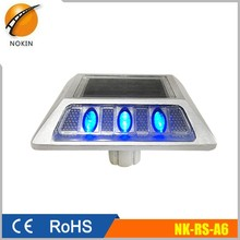 Import wholesale electronics solar led reflective motorway studs, solar road stud for sale