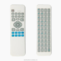 New arrival 2.4G wireless keyboard with air mouse full qwerty keyboard