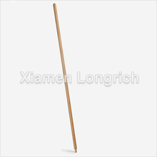 Household Tools Natural Bamboo Wooden Broom Handle Replaceable
