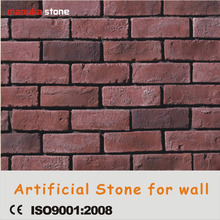 Standard size thin thickness old artificial decorative brick