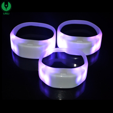 Flashing Sound Activated Remote Controlled Led Bracelet