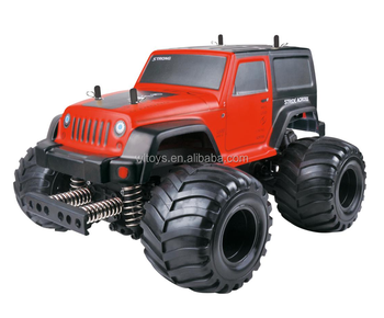 WL TOYS P959 2.4G High Speed Remote Control Vehicle 1:10 Scale Electrical 2WD RC Wrangler Car