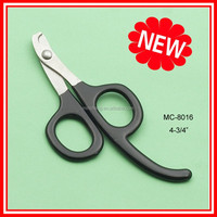 Professional production pet nail grooming scissors