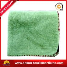 logo embroidery blanket woven blanket cotton terry cloth blanket customized design