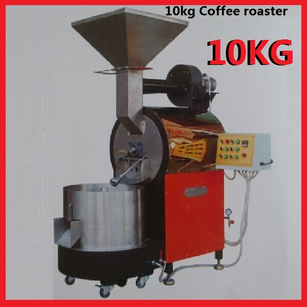 Coffee roasting equipment 10kg gas coffee roaster