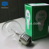 China professional clear bulb e27 100w