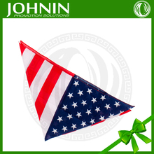 OEM home textile products cute fabric with your logo printed USA handkerchief wholesale