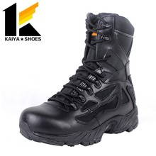 rubber sole 8 inch military troops combat boots for tactical
