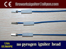 electric igniter head without gunpowder,fireworks ignition ,wholesale 0.3m igniter wire+head 5000pcs/fireworks igniter
