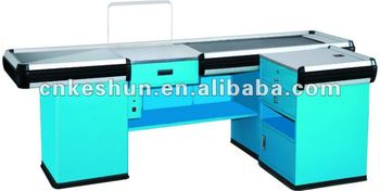HOT SALE:cashier table with sloping board
