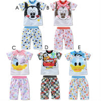 New clothing set kids pant suit 2pcs tops and pants