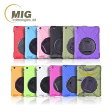 new product Pirate king 3 in 1 style for ipad mini 1 2 3 4 waterproof case For iPad 4 Shockproof case