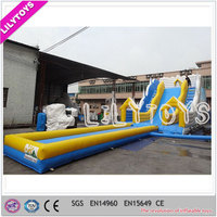 commercial inflatable water slide, inflatable water slide for kids and adult, inflatable water slide with pool