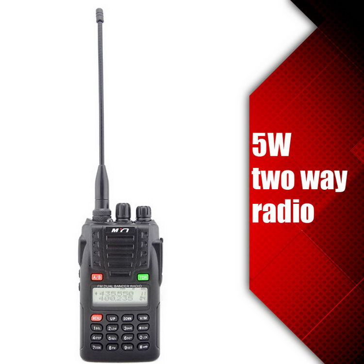 2015 newest portable tetra handy u &v walkie talkie