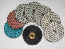100mm 125mm 180mm diamond dry granite polishing pad