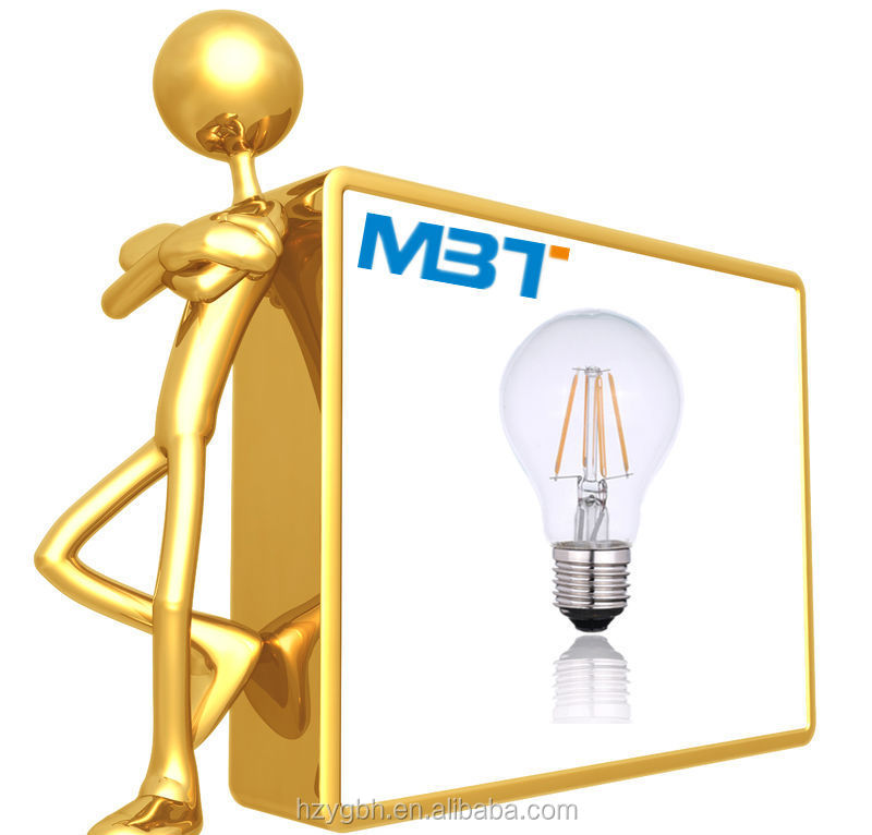 Hot Selling E27 A60 Global Tungsten Filament Lamp 6W