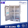 Good quality telecom outdoor cabinet/battery rack enclosure IP55/heat insulation enclosure SK-419 double door type