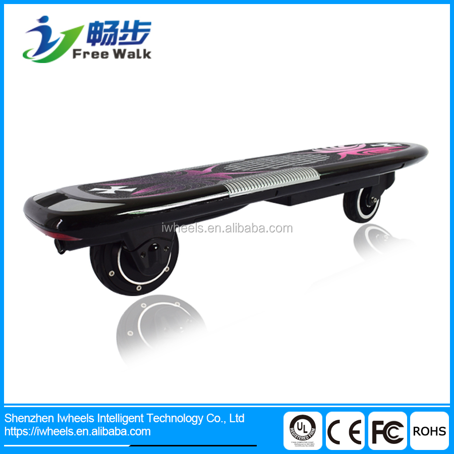 Popular 300W adults 2 wheel electric skateboard for sale with remote control