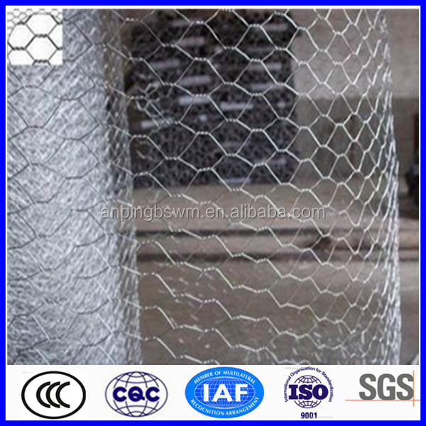 High Quality galvanized hexagonal gabion wire mesh