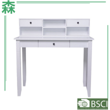 Yasen Houseware Bookcase With Study Table,Long Table For Study,Moden Study Table