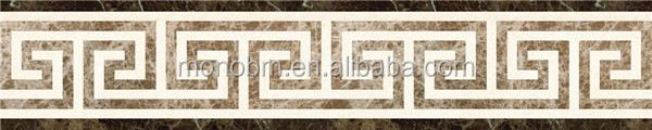 Indian marble waterjet border designs reconstituted marble