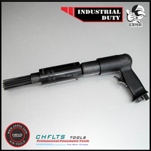 AH-190RS Industrial duty 3,500 Blows/Min 19 X 65mm Bore/Stroke Pistol Grip Needle Scaler with 19 3MM needles