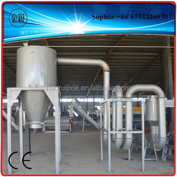 PP PE plastic film dewatering and drying system / recycling machine
