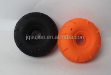 PVC inflatable tyre 12cm 80g used for plastic toy car for children