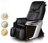Hot selling Coin/Bill Operated Vending Massage Chair Cord