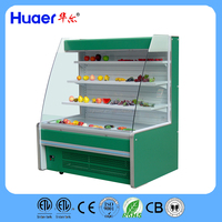 commercial display fruit and vegetable refrigerator fruit storage for supermarkets Vertical Air Curtain MerchandisersThe Turbo A
