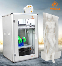 Factory Supply Beautiful Design FDM 3D Printer / Large Heated Platform Machine / Rapid Prototyping Printer 3D