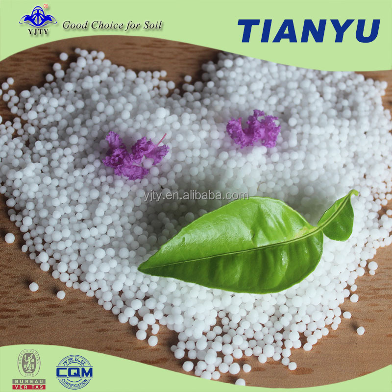 Hot selling yellow sulphur coated urea with high quality