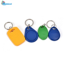Factory supplySave 20% free sample blank wholesale plastic RFID S50 key fob