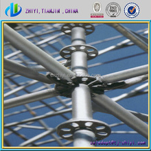 Hot dip galvanizing scaffolding poles & scaffolding for high-rise buildings